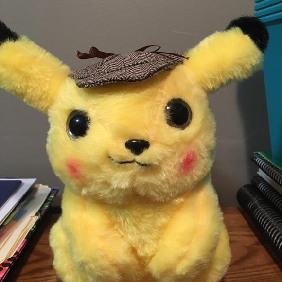Pokemon Other Detective Pikachu Stuffed Animal Poshmark